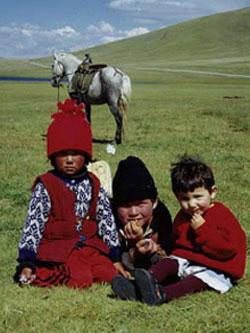 kyrgyz children, Bishkek