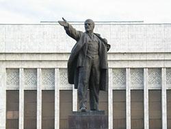 Памятник Ленину, Бишкек