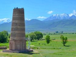 Тур к башне Бурана и в ущелье Иссык-Ата